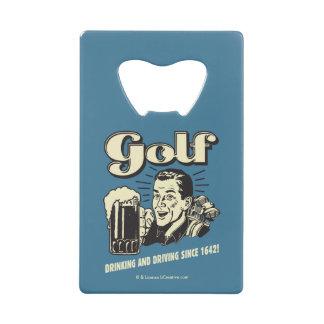 Golf : Boire et entraînement depuis 1642