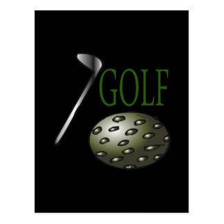 Golf Cartes Postales