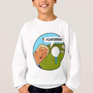 Golf de Donald Trump Sweatshirt