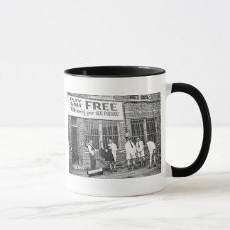 Golf de jeu libre (tout en faisant presser votre mugs
