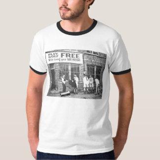Golf de jeu libre (tout en faisant presser votre t-shirt