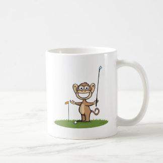 Golf de singe mug