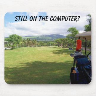 Golf Mousepad de Maui Tapis De Souris