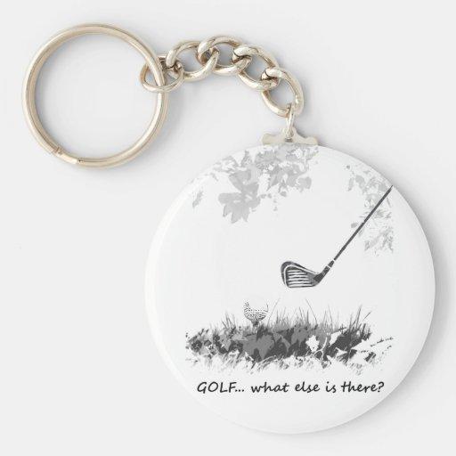 Golf quoi encore est là citation de golfeur d'amus porte-clé