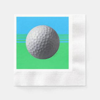 Golfeur à l'intérieur des serviettes de papier serviette en papier