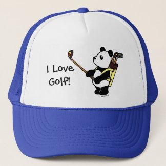 Golfeur de panda de Kawaii Casquette
