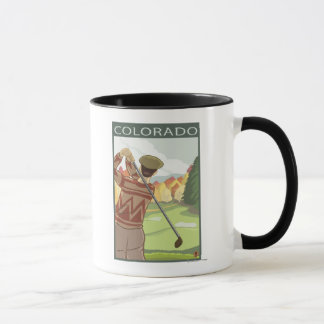 Golfeur SceneColorado Tasse