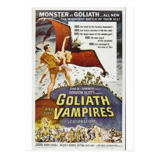 GOLIATH ET LA CARTE POSTALE DE VAMPIRES