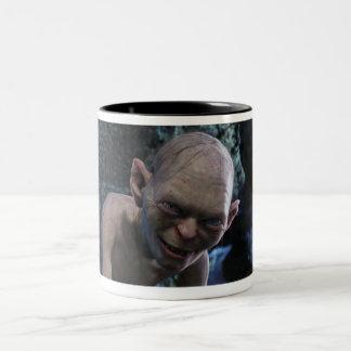 Gollum avec le sourire tasse 2 couleurs