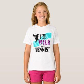 T-shirt basique ComfortSoft® pour enfant, Golly Girls - Tennis