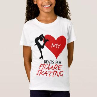 Golly filles - mes battements de coeur pour le T-Shirt