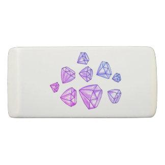 Gomme de cale de diamants d'éblouissement
