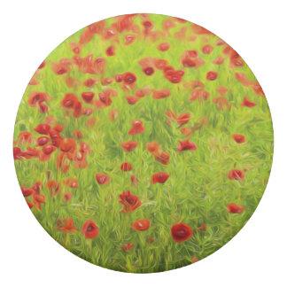 Gomme Le pavot merveilleux fleurit VIII - Mohnbluhmen