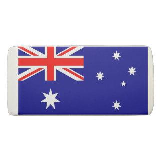 Gomme patriotique de cale avec le drapeau de