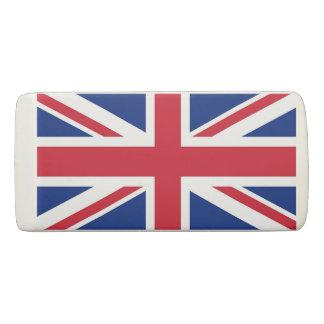Gomme patriotique de cale avec le drapeau du