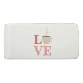 Gomme Pêche et blanc d'amour de café