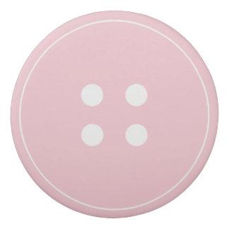 Gomme rose de bouton