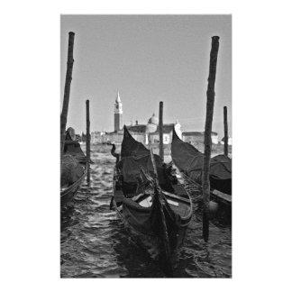 Gondoles à Venise Italie Papier À Lettre