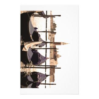 Gondoles de Venise Papiers À Lettres