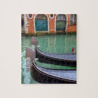 Gondoles sur le canal grand, Venise Puzzle