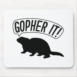 Gopher il tapis de souris