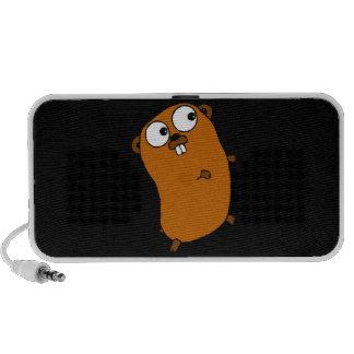 Gopher personnalisable mignon haut-parleur portable