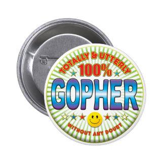 Gopher totalement badges