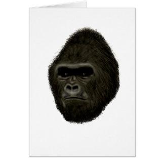 Gorille Carte De Vœux