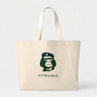 Gorille lançant Fourre-tout sur le marché Grand Tote Bag