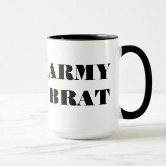 Gosse d'armée de tasse