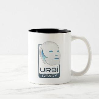Gostai Urbi grand et noir Mug Bicolore
