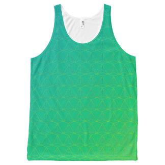 GOTCHA !  (Tank unisexe) Green version Débardeur Tout-imprimé