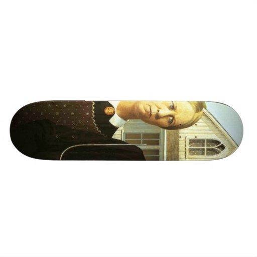 Gothique américain skateboard