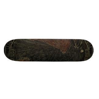 Gothique la corneille morte skateboards