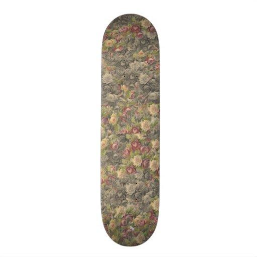 Gothique vintage s'est levé skateboards personnalisables