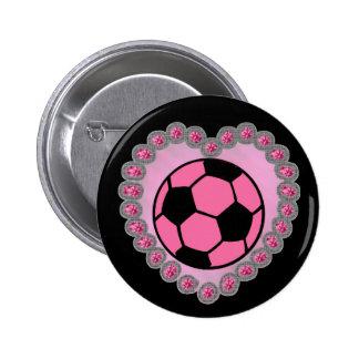 Goupille de ballon de football de charme pin's