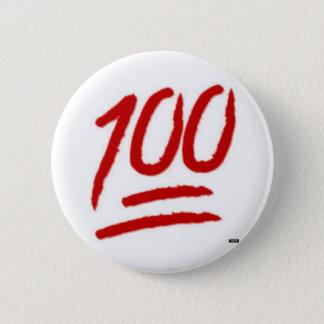 goupille de l'emoji 100 pin's
