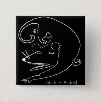 goupille d'opossum badges