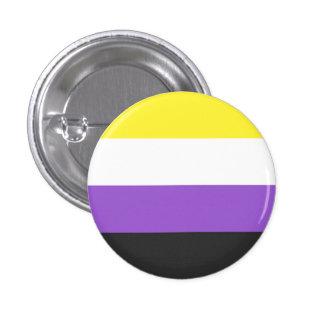 goupille non-binaire de drapeau pin's
