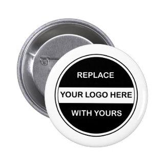 Goupilles de bouton de logo d'affaires pin's