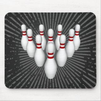 Goupilles de bowling : modèle 3D : Mousepad Tapis De Souris