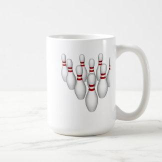 Goupilles de bowling : modèle 3D : Mugs