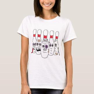 Goupilles de bowling t-shirt