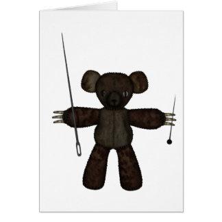Goupilles et ours des aiguilles 3D Cartes