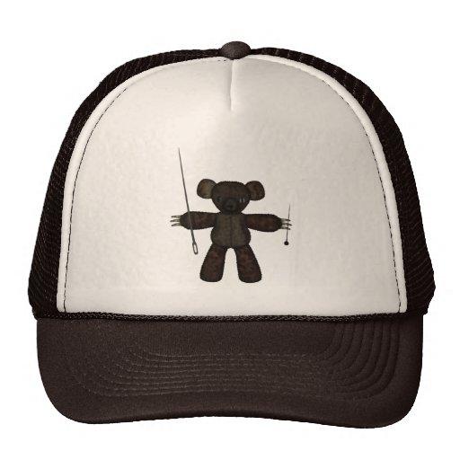 Goupilles et ours des aiguilles 3D Casquette