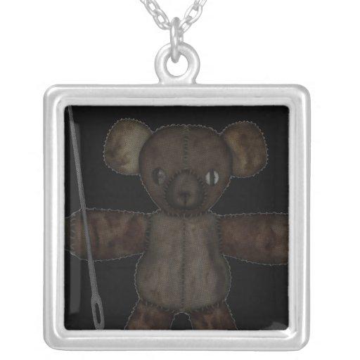 Goupilles et ours des aiguilles 3D Collier Personnalisé