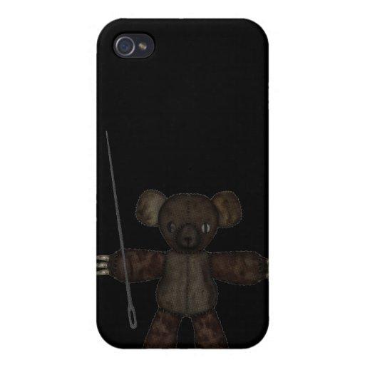 Goupilles et ours des aiguilles 3D Coques iPhone 4/4S