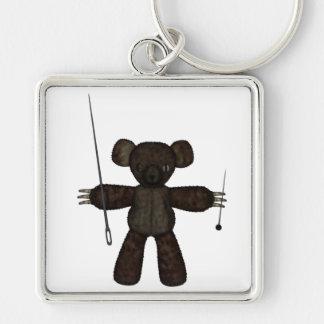 Goupilles et ours des aiguilles 3D Porte-clé