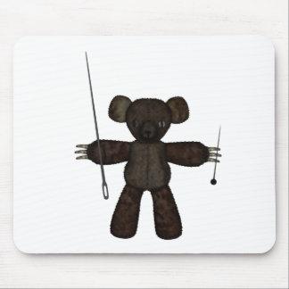 Goupilles et ours des aiguilles 3D Tapis De Souris