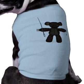 Goupilles et ours des aiguilles 3D T-shirt Pour Chien